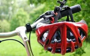 Bicyclists face dangers while riding.