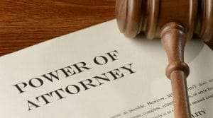 An adult guardian can be appointed with a power of attorney.